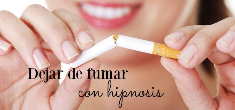 hipnosis para dejar de fumar en madrid